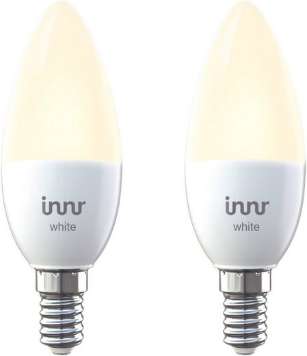 innr Smart Home Zubehör »LED E14 Lampe/2700 K warm/Zigbee 3.0 2er Pack«