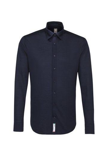 Schlussverkauf Jacques Britt Hemd »Perfect Fit« Perfect Fit Langarm Under-Button-Down-Kragen Uni