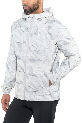 Odlo Outdoorjacke »FLI 2.5L Jacket Herren silver grey-paper print«