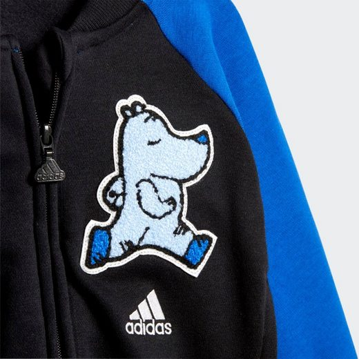 adidas Performance Trainingsanzug »Baseball Fleece Jogginganzug«