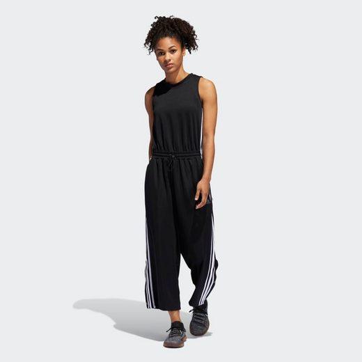 adidas Performance Trainingsanzug »Cropped Leg Snap Onesie«, SPORT2STREET