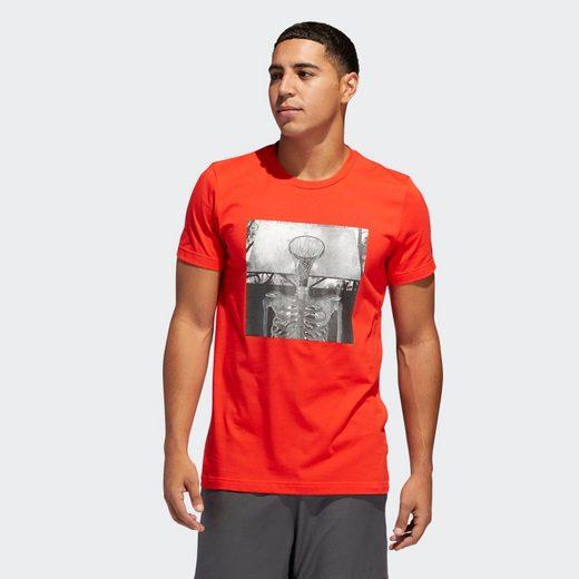 adidas Performance T-Shirt »Skull Ball T-Shirt« Clima;Icon