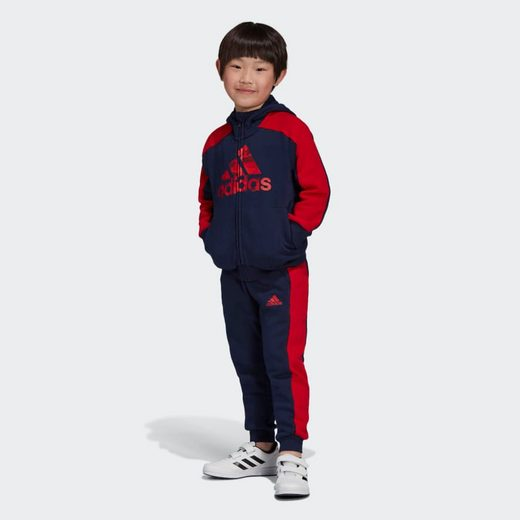 adidas Performance Trainingsanzug »Graphic Kapuzenjacken-Set«