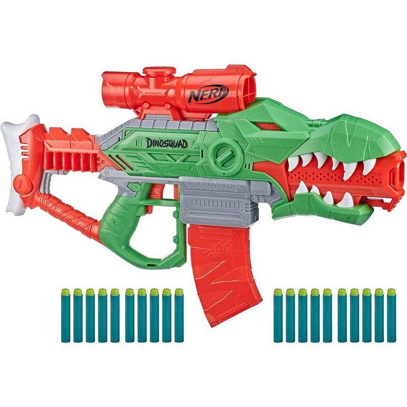 Hasbro Blaster »Nerf DinoSquad Rex-Rampage motorisierter Blaster,«