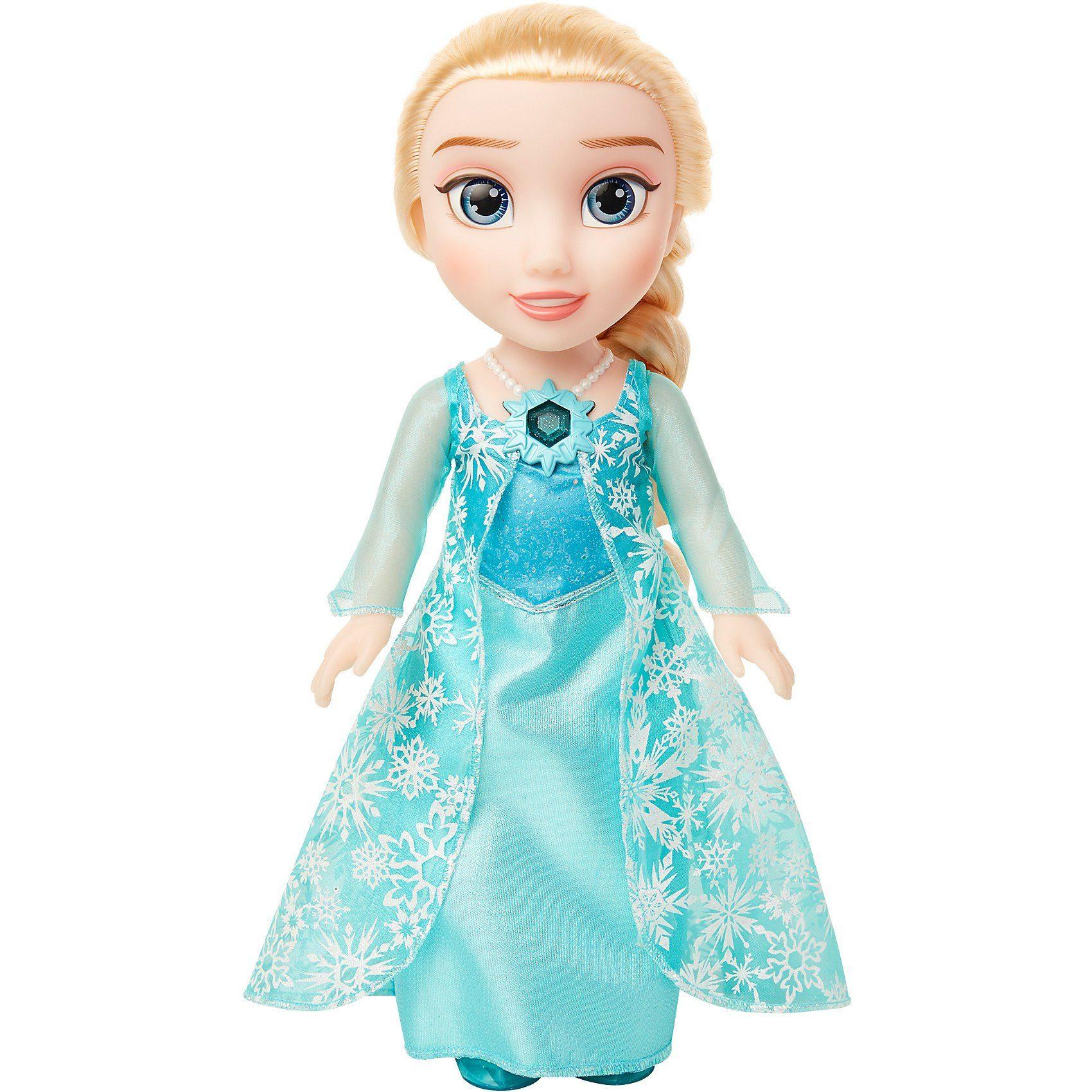 1 x Puppe Prinzessin brünett 28 cm Augen Grün Doll Princess Winter Dreams Puppen