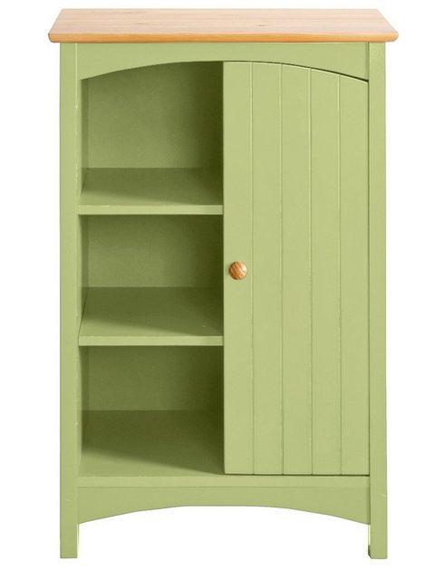 heine home Kommode mit Platz für drei Körbe grün   04750710409599