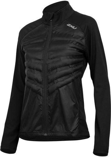 2xU Trainingsjacke »Heat Half Puffer Jacket Damen«