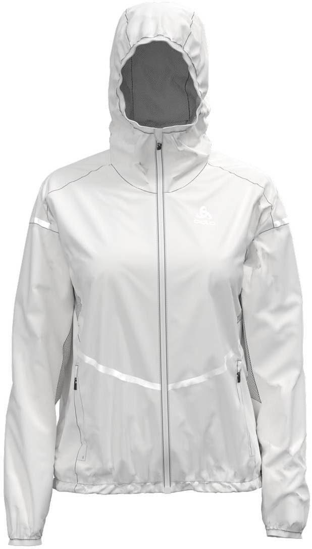Unisex Odlo Trainingsjacke »Zeroweight Pro Jacket Damen« weiß   07613361253775