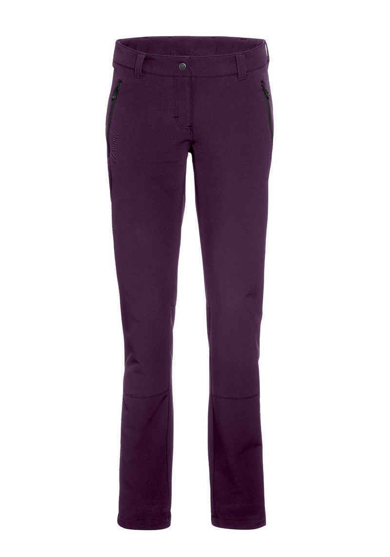 Maier Sports Funktionshose »Helga slim« Slim fit, Winter-Outdoorhose, sehr elastisch