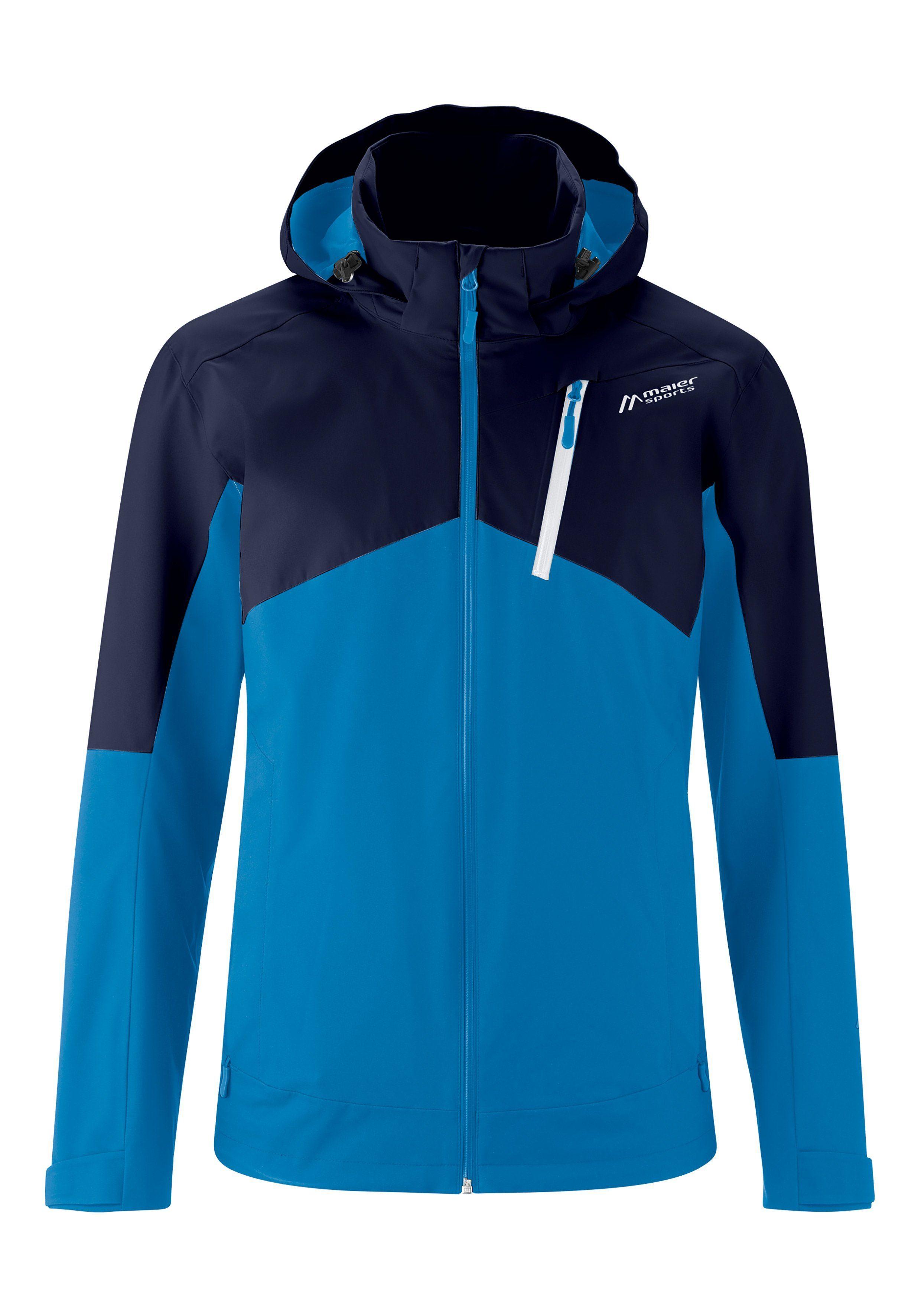 Herren Maier Sports Funktionsjacke »Sydalen M« blau, rot | 04057486382034