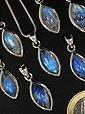 Adelia´s Kettenanhänger »Regenbogenmondstein Anhänger 925 Silber«, Bild 2