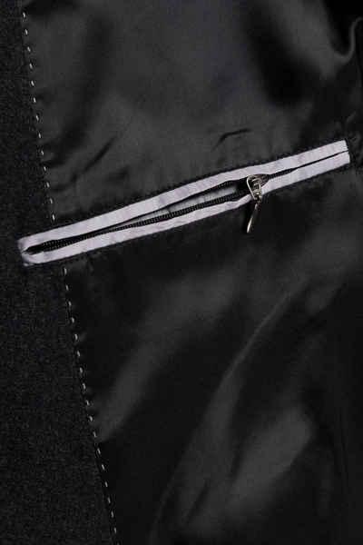 JP1880 Langmantel bis 7 XL Wollmantel Knopfleiste Reverskragen gefüttert 2 Taschen