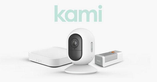 Kami Smart Home Zubehör »Wire-Free Camera Kit Box«