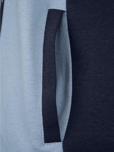 Paola Shirtjacke in kontrastfarbener Verarbeitung