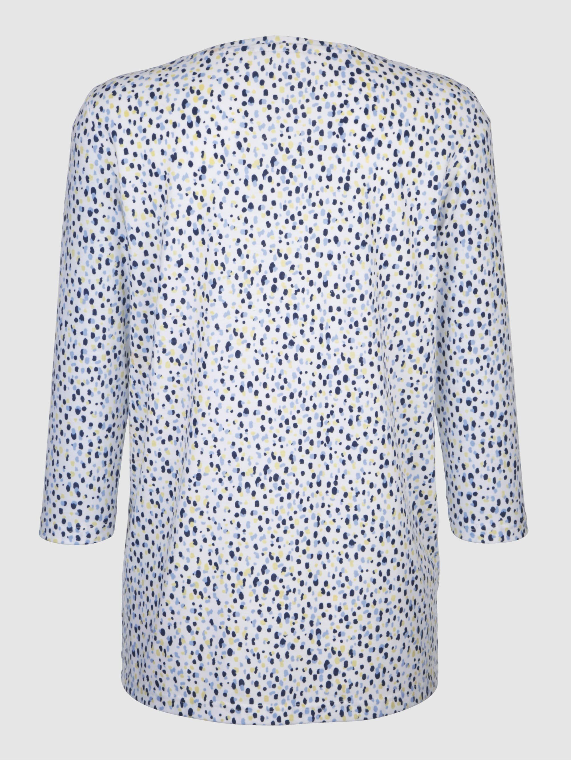 Paola Shirt mit Druck rundum ywNu1n