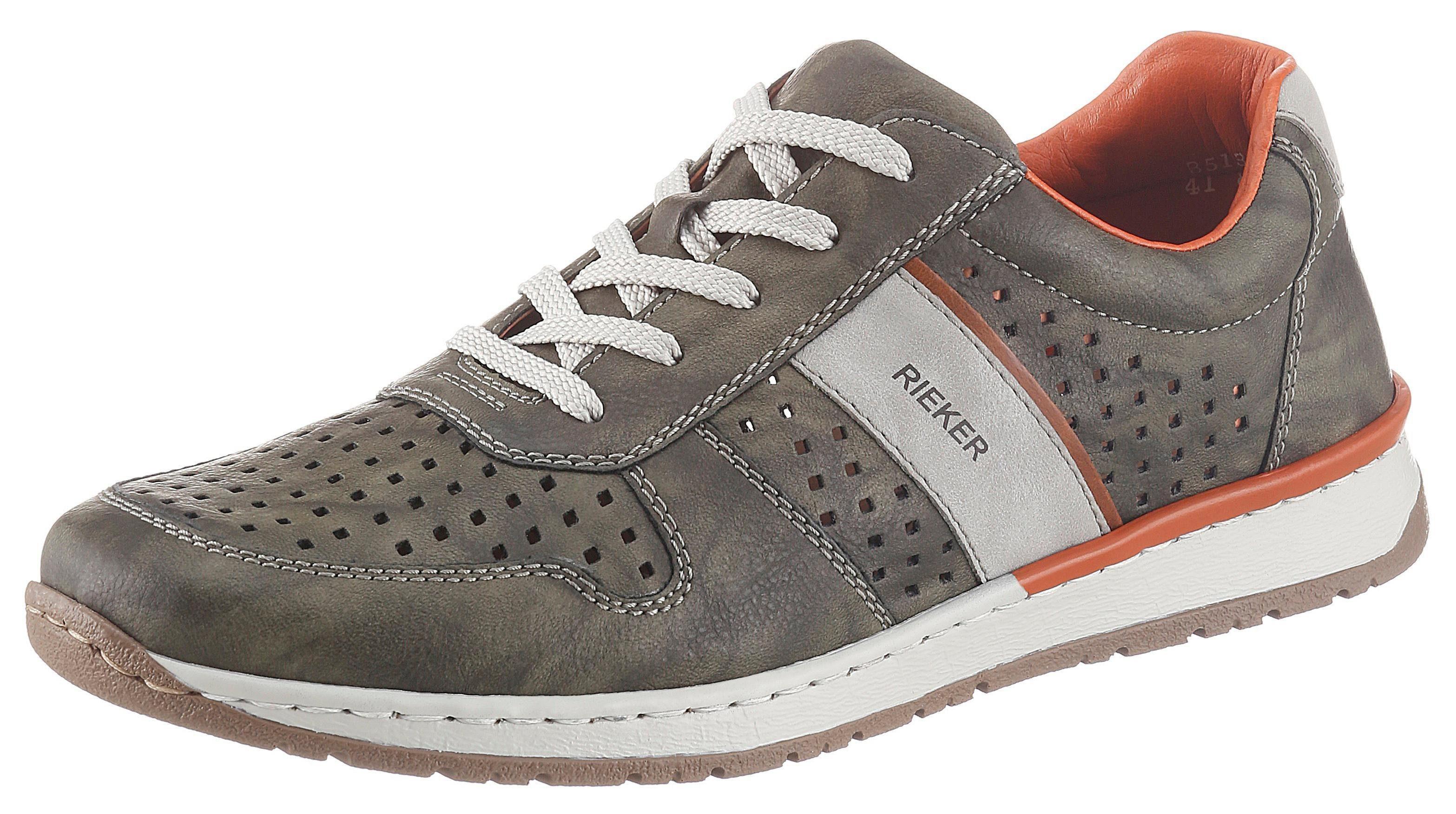 Rieker Sneaker mit modischen Kontrasteinsätzen | OTTO