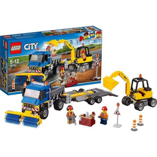 LEGO® 60152 City: Straßenreiniger und Bagger