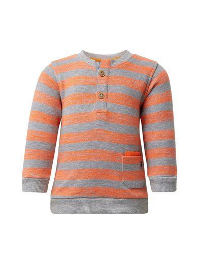 TOM TAILOR Sweatshirt »Gestreiftes Sweatshirt«