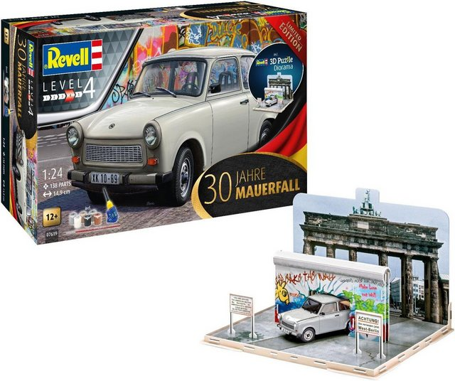 Image of Revell® Modellbausatz »30 Jahre Mauerfall«, Maßstab 1:24, (Set), Made in Europe