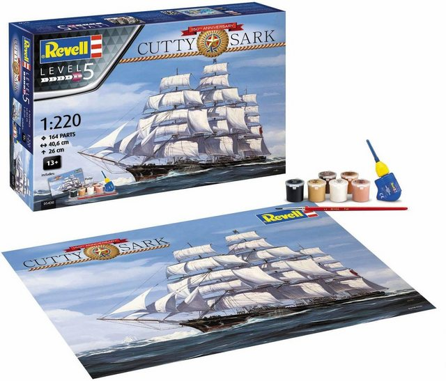 Image of Revell® Modellbausatz »150 Jahre Cutty Sark«, Maßstab 1:220, Made in Europe