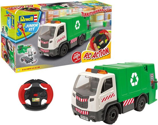 Revell® RC-LKW »Junior Kit, RC Müllwagen« (50-tlg)