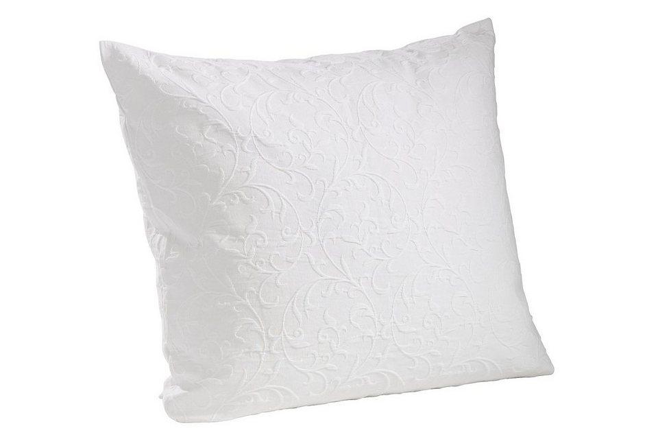 Kissenhülle in weiß
