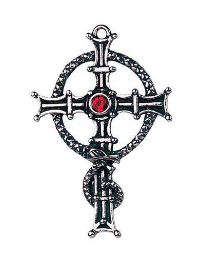 Adelia´s Amulett »Keltische Zauberei Talisman«, St. Columba's Kreuz - Furchtlosigkeit