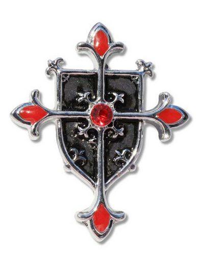 Adelia´s Amulett »Talismane der Tempelritter«, Schild-Kreuz - Schutz gegen das Böse