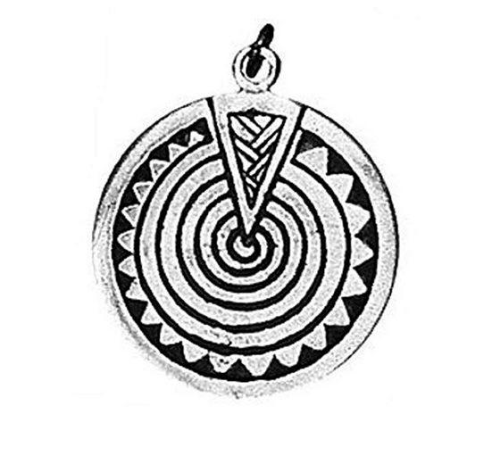 Adelia´s Amulett »Keltischer Sternzeichen Anhänger« Heulsaf Yr Haf - 9. Juni - 1. Juli
