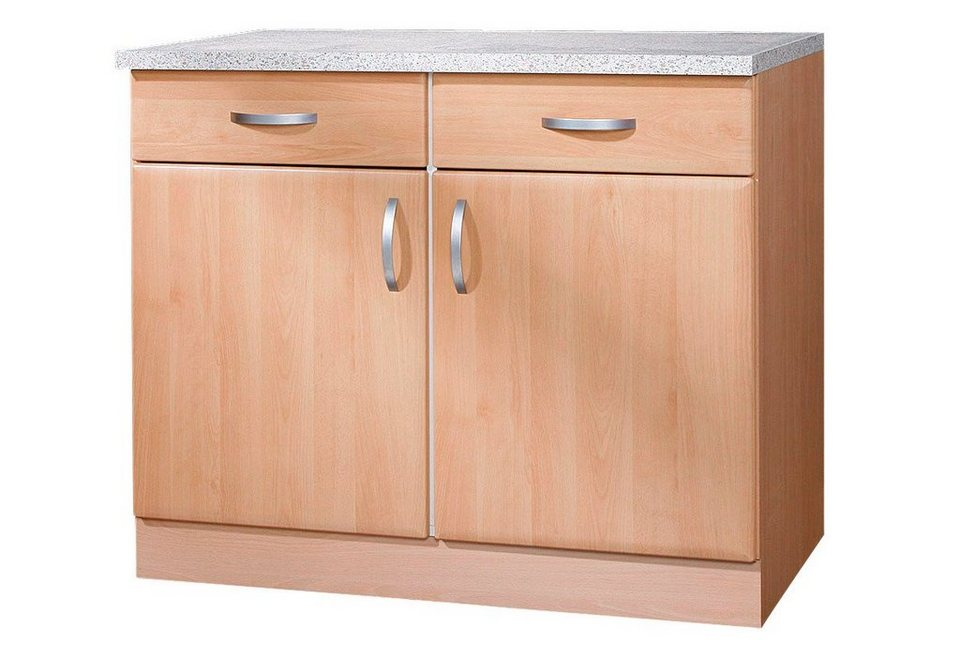 Küchenunterschrank »Prag«, B/T/H: 100/60/85 cm | OTTO