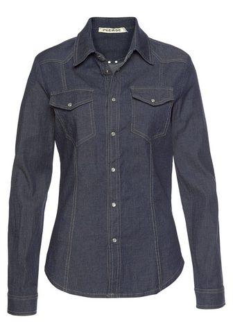 PLEASE JEANS Please джинсы джинсовая блузка »...