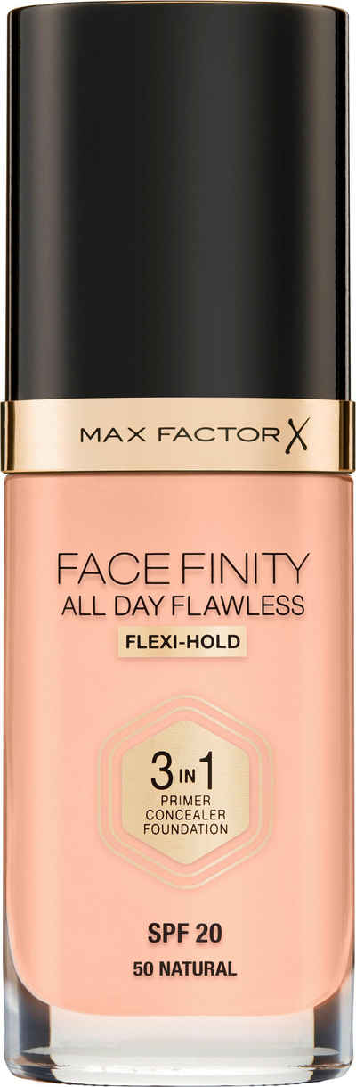 MAX FACTOR Foundation »FACEFINITY All Day Flawless«
