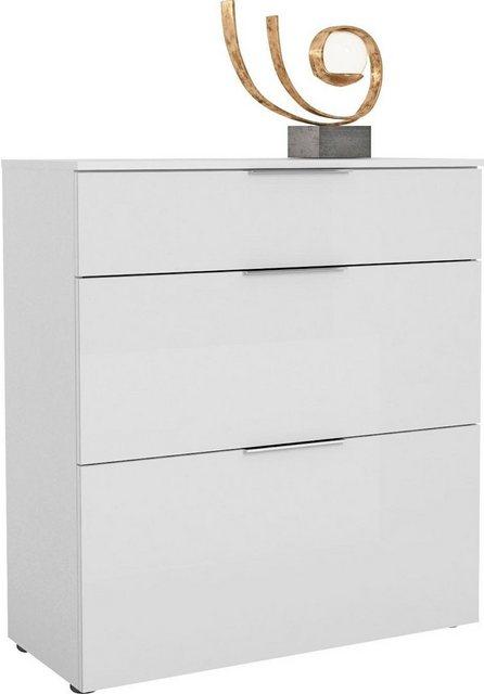 Schuhschränke und Kommoden - Maja Möbel Schuhschrank »TREND Schuhschrank 2567« Oberplatte Holz, Schublade mit Filzeinlage  - Onlineshop OTTO