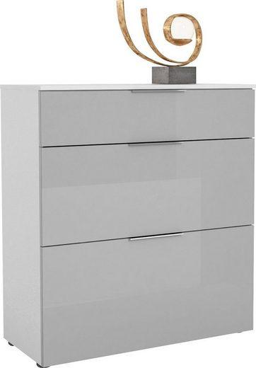 Maja Möbel Schuhschrank »TREND Schuhschrank 2567« Oberplatte Holz, Schublade mit Filzeinlage