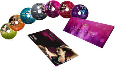 Zumba Fitness Trainings-DVD »Exhilarate Body Shaping System«, (7-St)