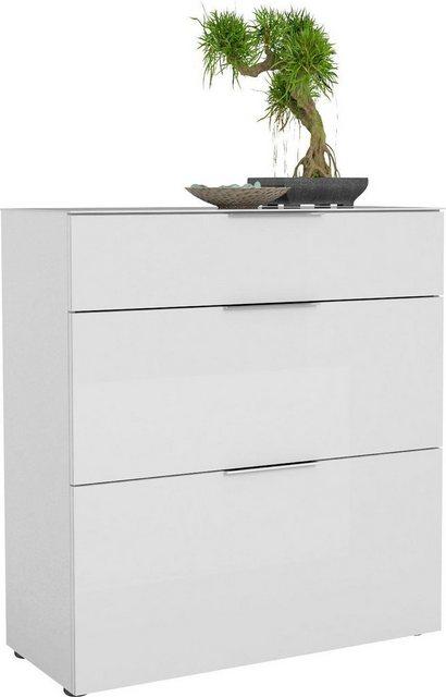 Schuhschränke und Kommoden - Maja Möbel Schuhschrank »TREND Schuhschrank 2568« Oberplatte Glas, Schublade mit Filzeinlage  - Onlineshop OTTO