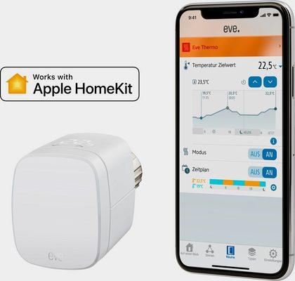 EVE »Thermo 2019 (HomeKit)« Smartes Heizkörperthermostat
