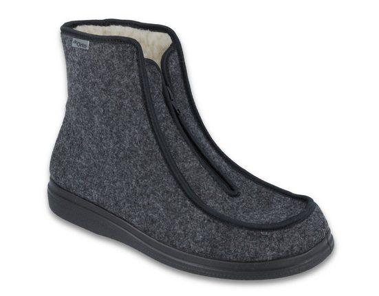 Dr. Orto »Medizinische Schuhe für Herren« Spezialschuh Gesundheitsschuhe, Präventivschuhe, Diabetikerschuhe, Hüttenschuhe, Winter-Hausschuhe, Gefüttert