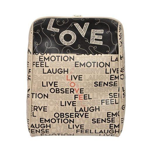 DOGO Tagesrucksack »L-O-V-E«
