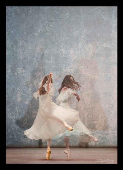 G&C Bild »BALLET DANCERS III«, gerahmt