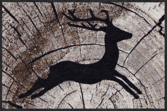 fu matte passing deer salonloewe rechteckig h he 7 mm. Black Bedroom Furniture Sets. Home Design Ideas