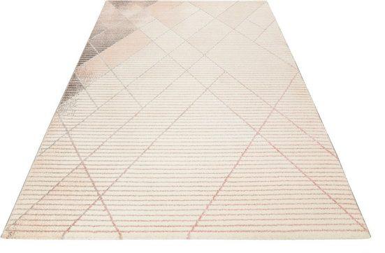 Teppich »Velvet Walk«, Wecon Home, rechteckig, Höhe 13 mm, Kurzflor