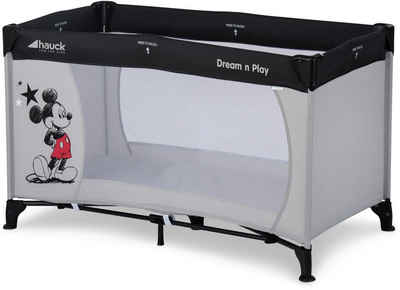 Hauck Baby-Reisebett »Dream N Play - Mickey Stars«, inkl. Transporttasche