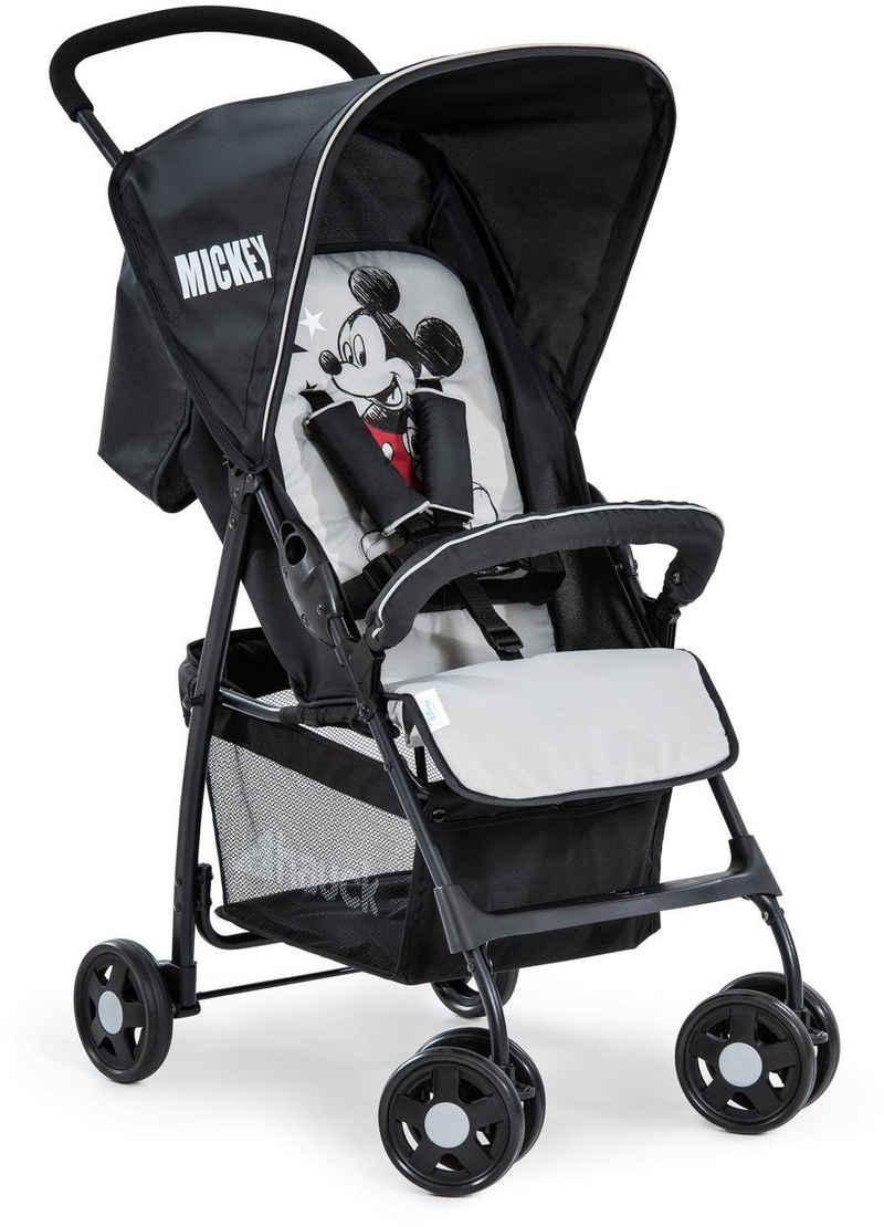 Hauck Kinder-Buggy »Sport, Mickey Stars«, mit schwenk- und feststellbaren Vorderrädern; Kinderwagen, Buggy, Sportwagen, Sportbuggy, Kinderbuggy, Sport-Kinderwagen