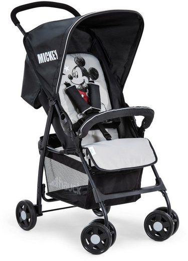Hauck Kinder-Buggy »Sport, Mickey Stars«, mit schwenk- und feststellbaren Vorderrädern
