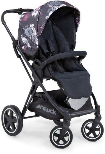 Hauck Kinder-Buggy »iPro Mars, Wild Blooms Black«, mit Beindecke; Kinderwagen, Buggy, Sportwagen, Sportbuggy, Kinderbuggy, Sport-Kinderwagen