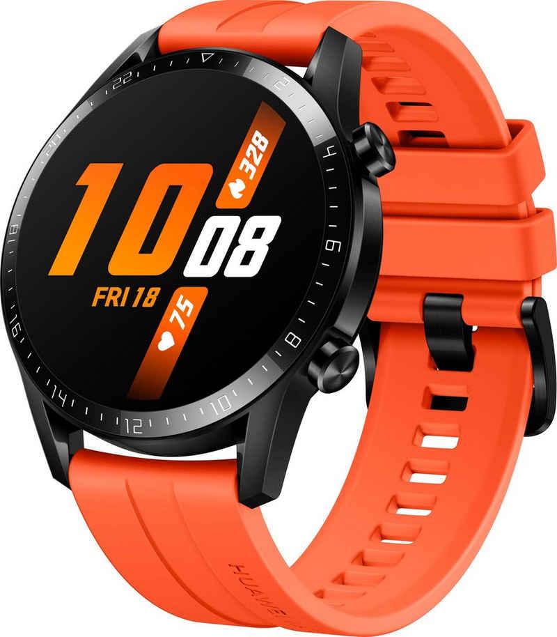 Huawei Watch GT 2 Sport Smartwatch (3,53 cm/1,39 Zoll, RTOS), 24 Monate Herstellergarantie