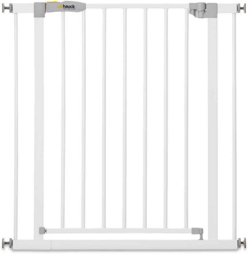 Hauck Türschutzgitter »Stop N Safe 2, weiß«, auch als Treppenschutzgitter verwendbar