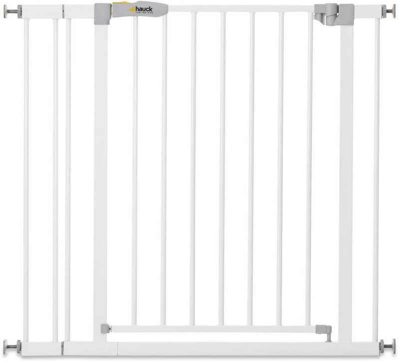 Hauck Türschutzgitter »Stop N Safe 2 inklusive 9 cm Extension, weiß«, auch als Treppenschutzgitter verwendbar