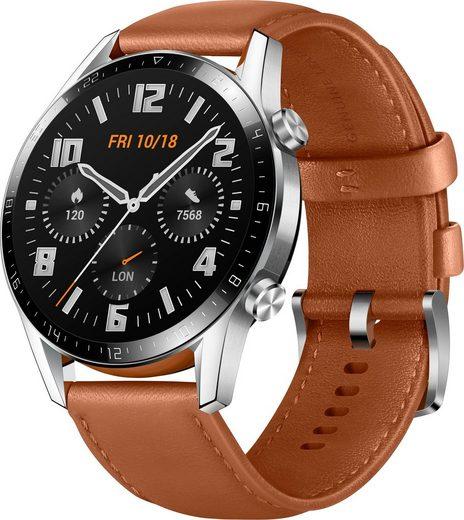 Huawei Watch GT 2 Classic Smartwatch (3,53 cm/1,39 Zoll, RTOS), 24 Monate Herstellergarantie